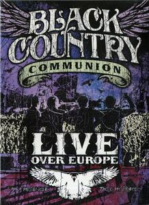 Black Country Communion. Live Over Europe (2 DVD) - DVD