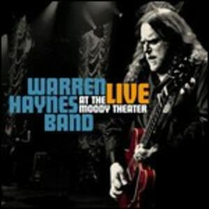 Live at the Moody Theater - CD Audio + DVD di Warren Haynes