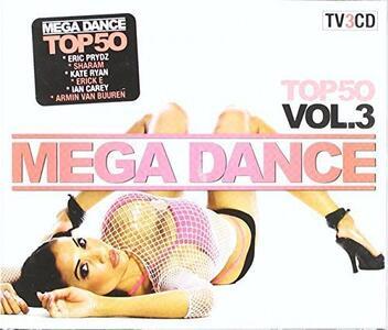 Mega Dance Top 50 vol.3 - CD Audio