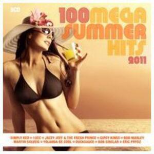 100 Mega Summer Hits 2011 - CD Audio