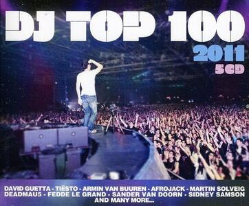 Dj Top 100 2011 - CD Audio