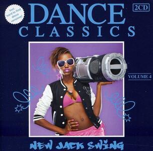 Dance Classics New Jack 4 - CD Audio