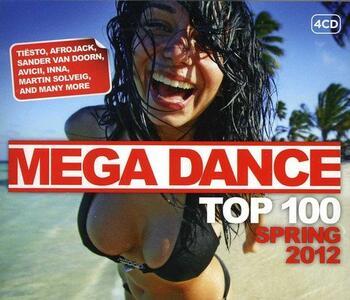 Mega Dance Spring 2012 - CD Audio
