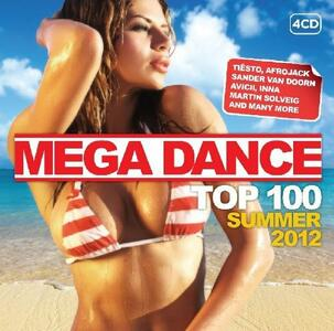Mega Dance Summer 2012 - CD Audio