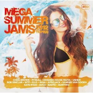 Mega Summer Jams Top 100 - CD Audio