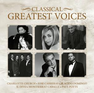 Greatest Classical Voices - CD Audio
