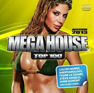 Mega House Top 100 Autumn - CD Audio