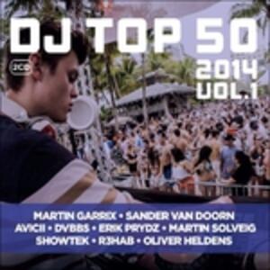Dj Top 50 2014 vol.1 - CD Audio