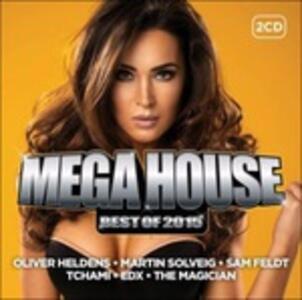 Mega House. Best of 2015 - CD Audio