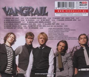 Vroeg Of Laat - CD Audio di Vangrail - 2