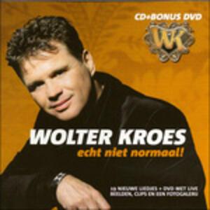 Echt Niet Normaal - CD Audio + DVD di Wolter Kroes