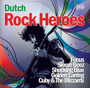 Dutch Rock Heroes - CD Audio