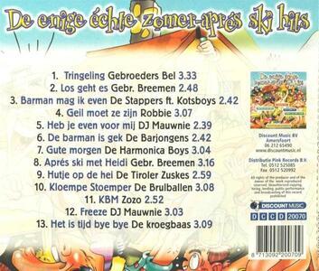 Zomer Apres Ski - CD Audio - 2