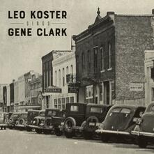 Sings Gene Clark - CD Audio di Leo Koster