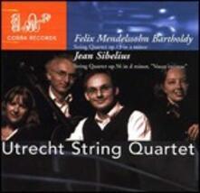 Quartetti per archi - CD Audio di Jean Sibelius,Felix Mendelssohn-Bartholdy