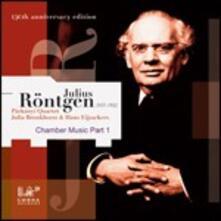 Musica da Camera Part 1 - CD Audio di Julius Röntgen