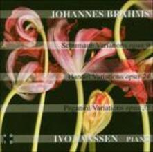 Schumann, Handel & Pagani - CD Audio di Johannes Brahms,Robert Schumann