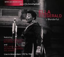 Wonderful Live - CD Audio di Ella Fitzgerald