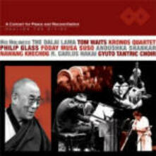 Healing the Divide - CD Audio di Philip Glass,Tom Waits,Anoushka Shankar,Gyuto Monks Tantric Choir,Greg Cohen,R. Carlos Nakai,Foday Musa Suso,Nawang Khechog,Kronos Quartet,Dalai Lama