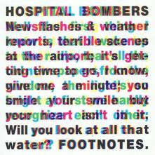 Footnotes - CD Audio di Hospital Bombers