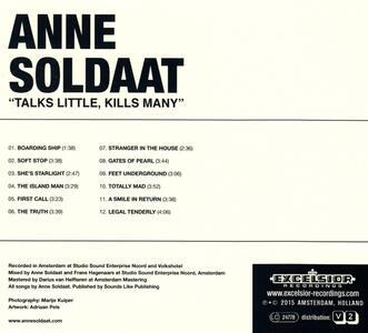 Talks Little, Kills Many - Vinile LP di Anne Soldaat - 2