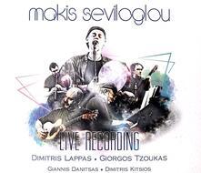 Live Recording - CD Audio di Makis Seviloglou