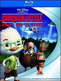 Cover Dvd Chicken Little. Amici per le penne (Blu-ray)