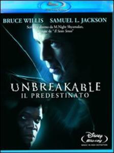 Unbreakable. Il predestinato di Manoj Night Shyamalan - Blu-ray