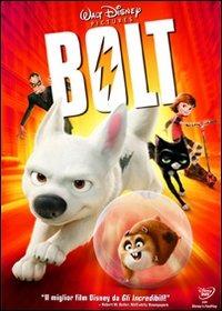 Cover Dvd Bolt. Un eroe a quattro zampe