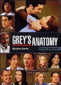 Cover Dvd Grey's Anatomy. Stagione 5