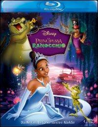Cover Dvd principessa e il ranocchio (Blu-ray)