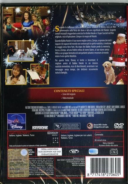 Babbo Natale Zampa.Zampa E La Magia Del Natale Dvd Dvd Film Di Robert Vince