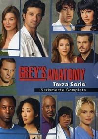 Cover Dvd Grey's Anatomy. Terza serie (DVD)