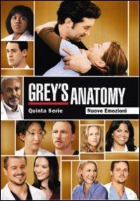 Cover Dvd Grey's Anatomy. Stagione 5 (DVD)