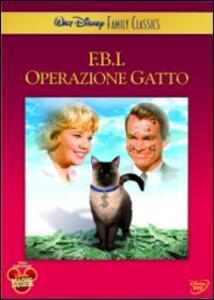 FBI operazione Gatto di Robert Stevenson - DVD