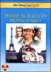 Herbie al rally di Montecarlo di Vincent McEveety - DVD