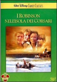 Cover Dvd Robinson nell'isola dei corsari (DVD)