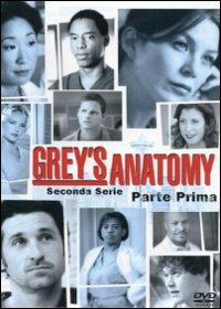 Cover Dvd Grey's Anatomy. Serie 2. Parte 1 (DVD)