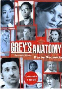 Cover Dvd Grey's Anatomy. Seconda serie. Parte 2 (DVD)