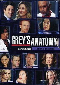 Cover Dvd Grey's Anatomy. Stagione 6 (DVD)