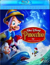 Cover Dvd Pinocchio (Blu-ray)