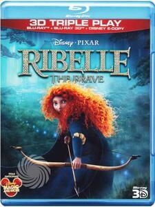 Ribelle. The Brave. 3D (Blu-ray + Blu-ray 3D) di Mark Andrews,Brenda Chapman,Steve Purcell - Blu-ray + Blu-ray 3D