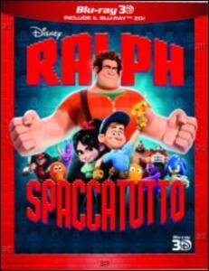 Ralph Spaccatutto 3D (Blu-ray + Blu-ray 3D) di Rich Moore