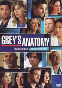Cover Dvd Grey's Anatomy. Ottava stagione (DVD)
