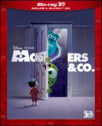 Cover Dvd Monsters & Co. 3D (Blu-ray)