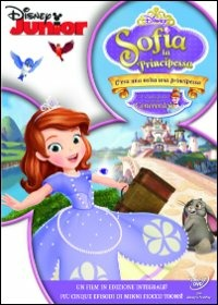 Cover Dvd Sofia la principessa. C'era una volta una principessa (DVD)