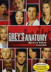 Cover Dvd Grey's Anatomy. Quarta serie (DVD)