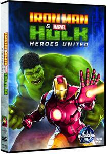 Film Iron Man & Hulk. Heroes United Eric Radomski Leo Riley