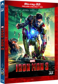 Cover Dvd Iron Man 3. 3D (Blu-ray)