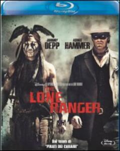 The Lone Ranger di Gore Verbinski - Blu-ray